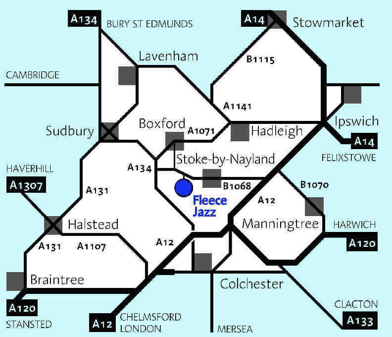 A diagrammatic map of the Stoke by Nayand area