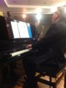 Chris Ingham on piano, research and compere