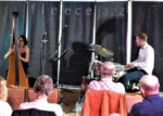 Alina Bzhezhinska Duo (sax and bass unable to come, brilliant gig.