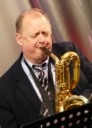Alan Barnes on baritone sax