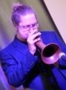 Bryan Corbett on Flugel (also trumpet)