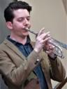 Freddie Gavita on trumpet and flugel