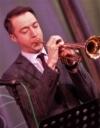 Steve Fishwick on trumpet
