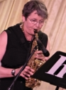 Gilly Burgoyne on alto, soprano and flute