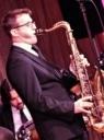 Mark Crooks on tenor and clarinet