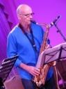Gerry Hunt on tenor sax