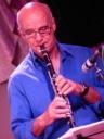 Gerry Hunt on clarinet
