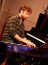 Sam Leake on piano and keys
