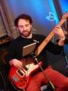 Lorenzo Bassignani on electric bass