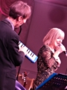 Paul o melodica with Catherine